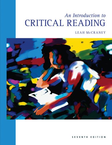 Introduction to Critical Reading  7th 2012 edition cover