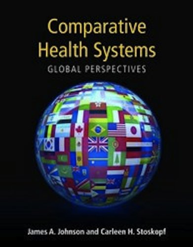 Comparative Health Systems Global Perspectives  2010 edition cover