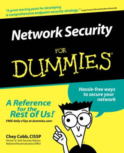 Network Security for Dummies�   2003 9780764516795 Front Cover
