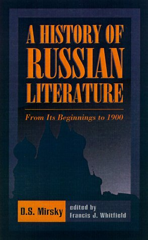 History of Russian Literature From Its Beginnings to 1900 N/A edition cover