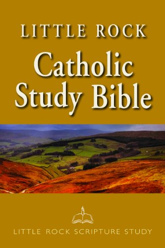 Little Rock Catholic Study Bible   2011 (Enlarged) edition cover