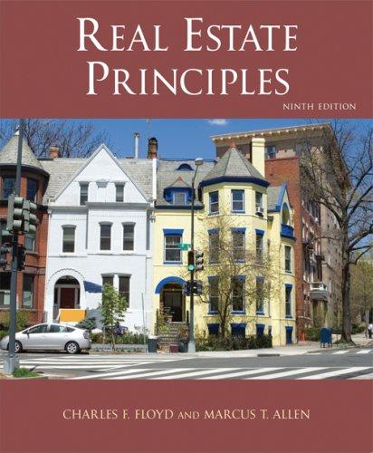 Real Estate Principles  9th 2008 edition cover