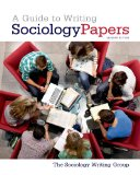 Guide to Writing Sociology Papers  7th 2014 edition cover