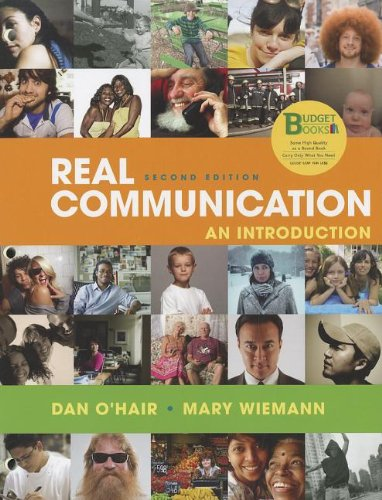 Real Communication An Introduction 2nd 2012 edition cover