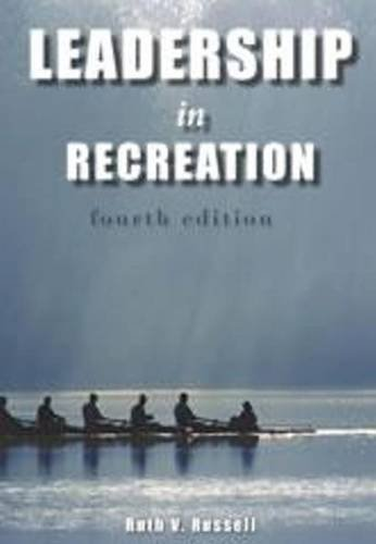 Leadership in Recreation:   2012 edition cover