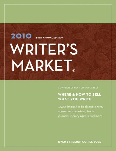 2010 Writer's Market  88th 2009 (Revised) 9781582975795 Front Cover