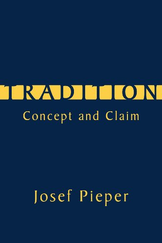 Tradition Concept and Claim  2010 edition cover