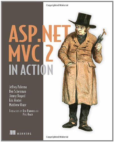 ASP. NET MVC 2 in Action  2nd 2010 9781935182795 Front Cover
