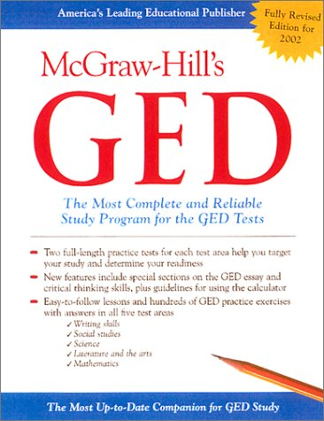 McGraw-Hill's GED The Most Complete and Reliable Study Program for the GED Tests  2002 (Revised) edition cover