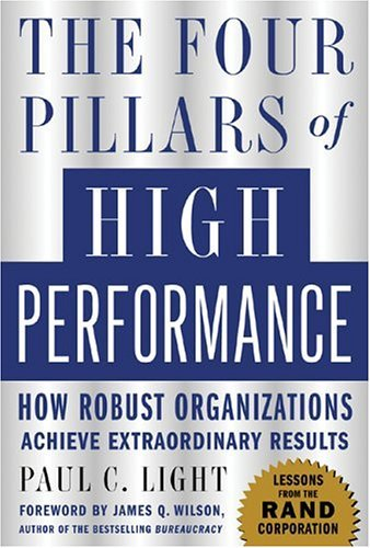 Four Pillars of High Performance   2005 edition cover