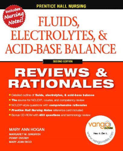 Fluids, Electrolytes, and Acid-Base Balance Reviews and Rationales 2nd 2007 edition cover