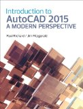 Introduction to AutoCAD 2015 A Modern Perspective  2015 edition cover