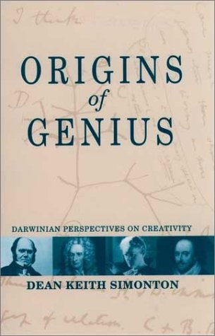 Origins of Genius Darwinian Perspectives on Creativity  1999 9780195128796 Front Cover