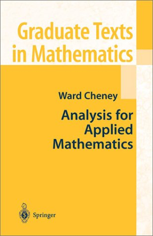Analysis for Applied Mathematics   2001 9780387952796 Front Cover