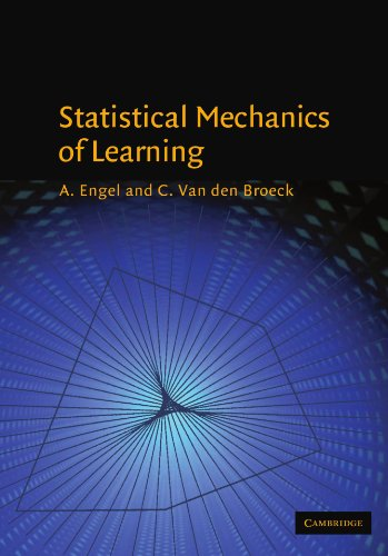 Statistical Mechanics of Learning   2001 9780521774796 Front Cover