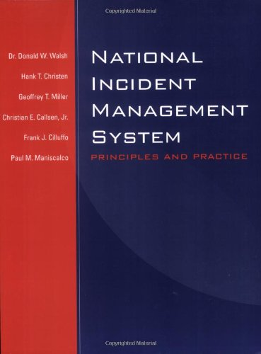 National Incident Management System Principles and Practice  2005 edition cover