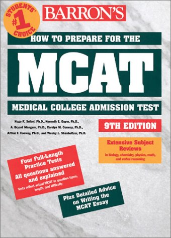 How to Prepare for the MCAT Medical College Admission Test 9th 2001 9780764113796 Front Cover