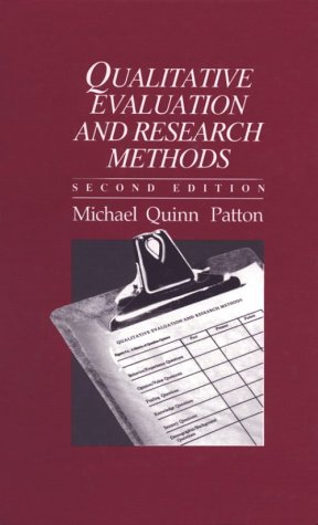 Qualitative Evaluation and Research Methods  2nd 1990 edition cover