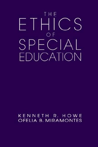 Ethics of Special Education   1992 edition cover