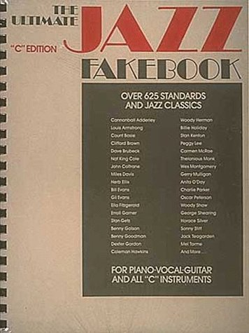 Ultimate Jazz Fake Book C Edition N/A edition cover