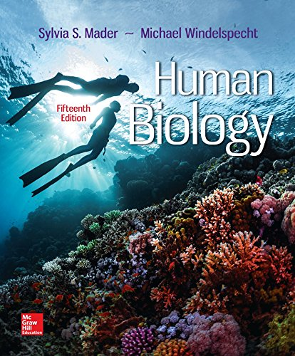 Human Biology:   2017 9781259689796 Front Cover