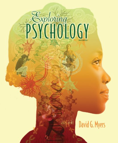 Exploring Psychology:   2012 edition cover