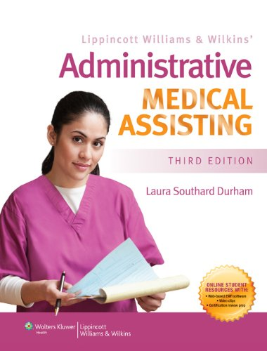 Administrative Medical Assisting  3rd 2013 (Revised) edition cover