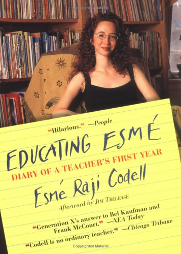 Educating Esm� Diary of a Teacher's First Year  2003 edition cover