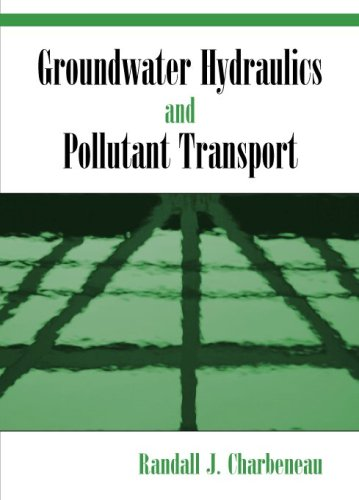 Groundwater Hydraulics and Pollutant Transport   2000 edition cover
