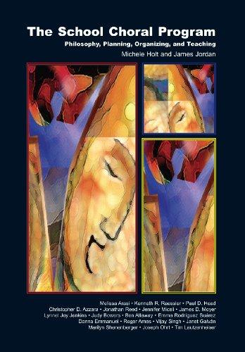 School Choral Program  2008 edition cover