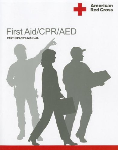 American Red Cross First Aid/CPR/AED Participant's Manual  4th 2011 edition cover
