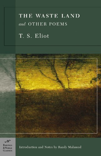 Waste Land and Other Poems  N/A edition cover