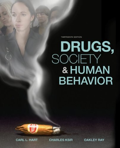 Drugs, Society, and Human Behavior  13th 2009 edition cover