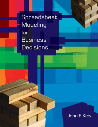 Spreadsheet Modeling for Business Decisions w/St CD, @RISK and Crystal Ball Access Cards   2008 9780077212797 Front Cover