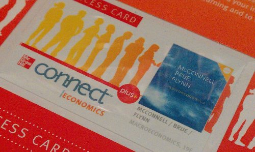 Macroeconomics, Connect Plus Economics With Learnsmart One Semester Access Card:   2011 edition cover