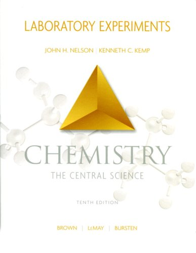 Chemistry - The Central Science Laboratory Experiments 10th 2006 edition cover