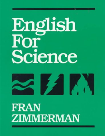 English for Science  1st 1989 9780132821797 Front Cover
