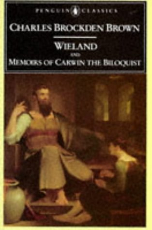 Wieland and Memoirs of Carwin the Biloquist   1991 edition cover