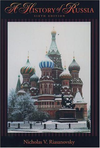 History of Russia  6th 2000 (Revised) edition cover