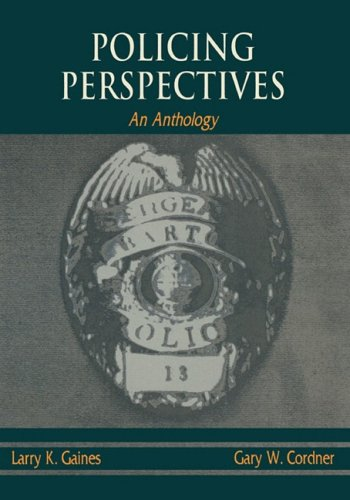 Policing Perspectives An Anthology N/A edition cover