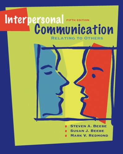 Interpersonal Communication Relating to Others 5th 2008 edition cover