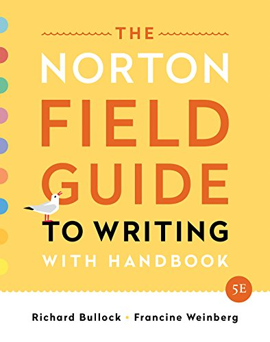 NORTON FIELD GDE.TO WRITING W/HANDBOOK  N/A 9780393655797 Front Cover