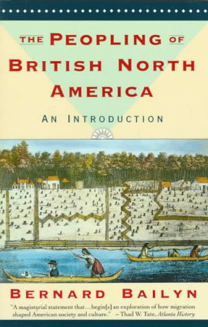 Peopling of British North America An Introduction N/A edition cover
