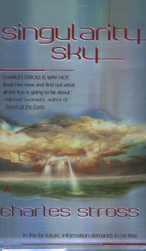 Singularity Sky   2003 edition cover