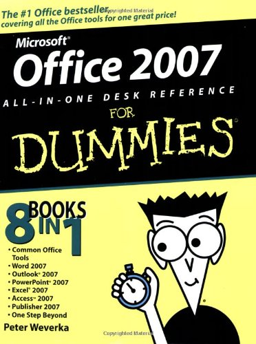 Office 2007 All-in-One Desk Reference for Dummies�   2007 edition cover