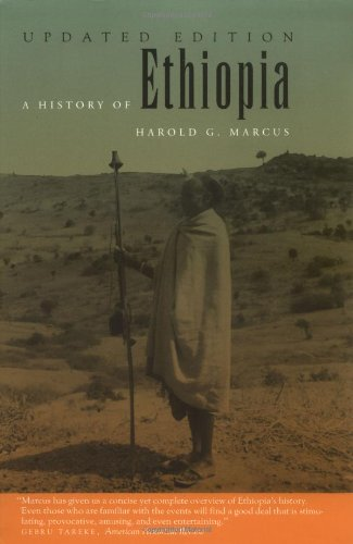 History of Ethiopia  2nd 2002 (Revised) edition cover