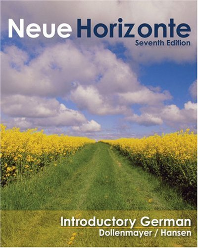 Neue Horizonte Introductory German 7th 2009 edition cover