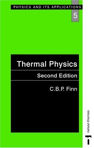 Thermal Physics  2nd 1993 (Revised) 9780748743797 Front Cover