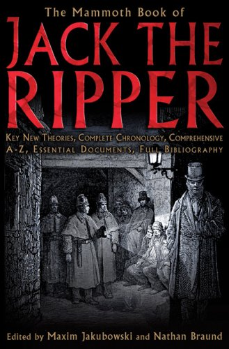 Mammoth Book of Jack the Ripper  N/A edition cover