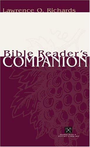 Bible Reader's Companion   2002 edition cover